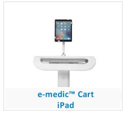 e-medic_visitenwagen iPad