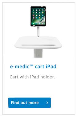 e-medic cart iPad Pro