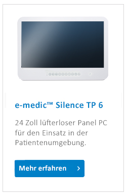 e-medic_Silence_TP_medical_Panel_PC_luefterlos