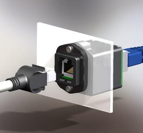 Netzwerk Geräteeinbau Isolator 1000Y