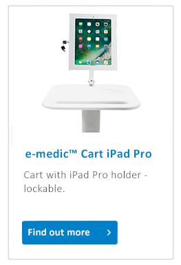 e-medic_cart iPad Pro