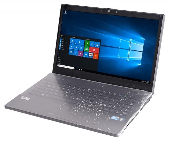 Hygienische Tastaturschutzfolie für Notebook Lapflex M