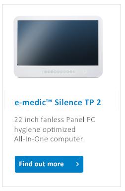 e-medic_Silence_TP2_medical_Panel_PC