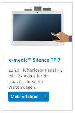 e-medic_Silence_TP_medical_Panel_PC_Akku
