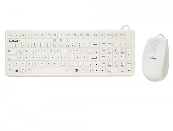 Medizinische Tastatur Maus Set